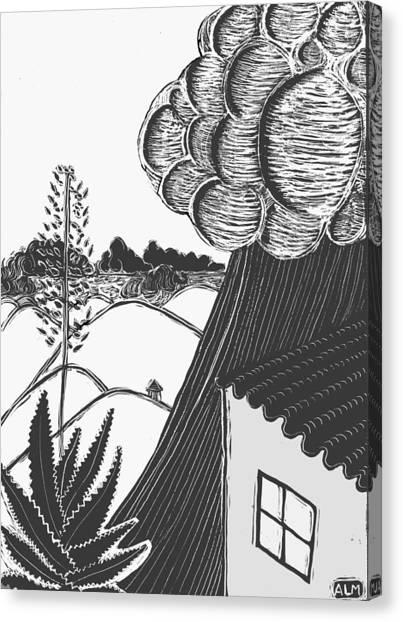 Lluvia Canvas Print