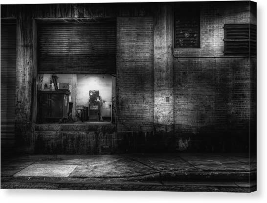 London Tube Canvas Print - Loading Dock by Scott Norris