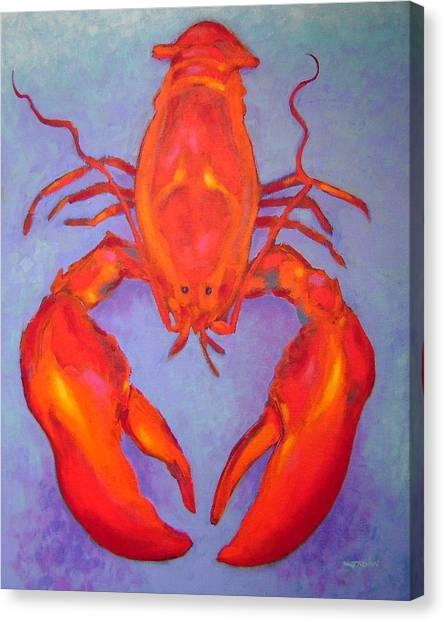 Lobster Canvas Print - Lobster by John  Nolan