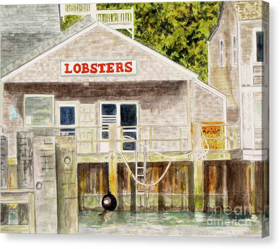 Lobster Shack Canvas Print