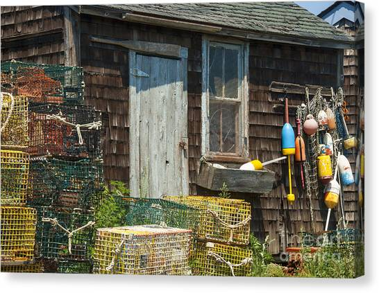 Rockport Canvas Print - Lobster Shack by Juli Scalzi