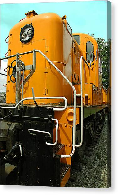 Canvas Print - Locamotive 201 by Larry Robinson