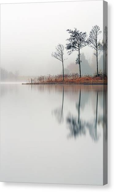 Loch Ard Reflections Canvas Print
