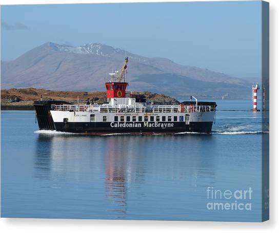 Loch Linnhe Ferry - Oban Canvas Print