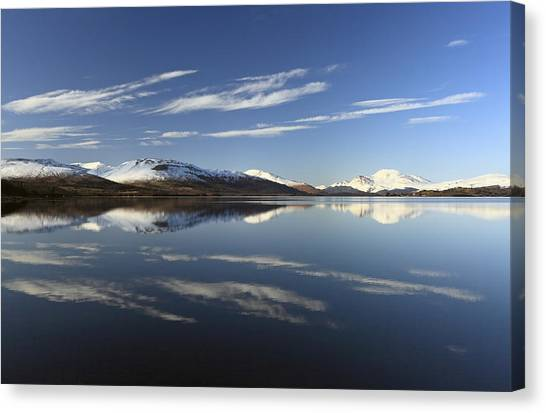 Loch Lomond Reflection Canvas Print