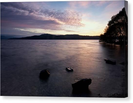 Loch Lomond Sunrise Canvas Print