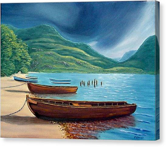 Loch Maree Scotland Canvas Print