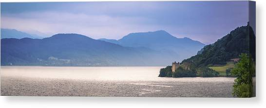 Loch Ness And Urquhart Castle Canvas Print