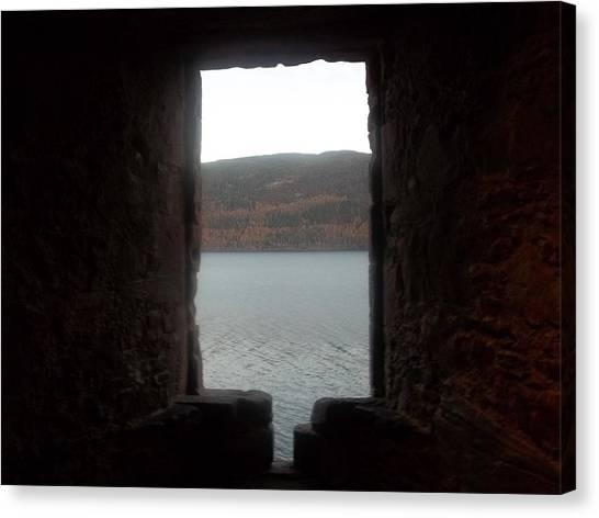 Loch Ness Portal Canvas Print