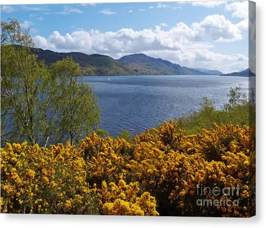 Loch Ness - Springtime Canvas Print