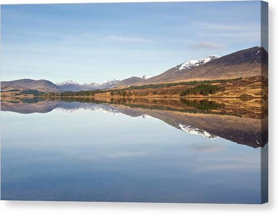 Loch Tulla In Spring Canvas Print