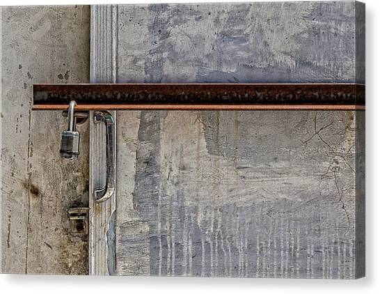 Locked And Barred Canvas Print by Robert Ullmann