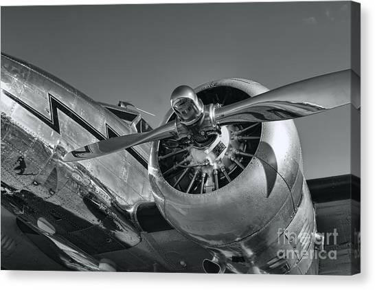 Lockheed 12a Electra Junior  Canvas Print