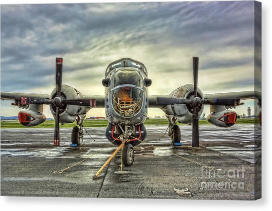 Lockheed P-2 Neptune Gunship Canvas Print