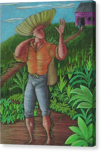 Loco De Contento Canvas Print