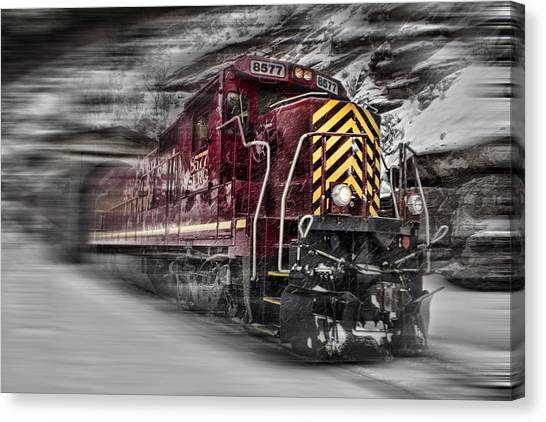Locomotion Canvas Print
