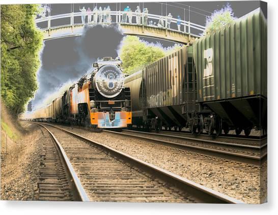 Locomotive Engine 4449 Canvas Print