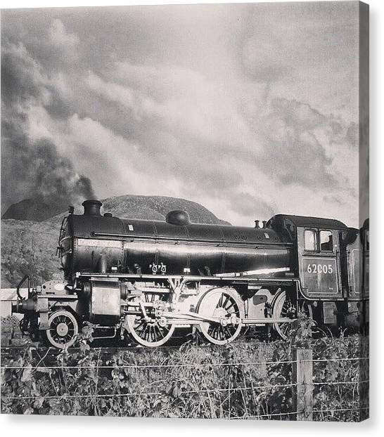 Locomotive Canvas Print - Locomotive by Marian Farkas