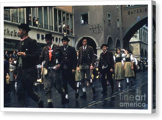 Loden Frey Parade Canvas Print by Theo Bethel