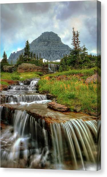 Logan Cascades Canvas Print