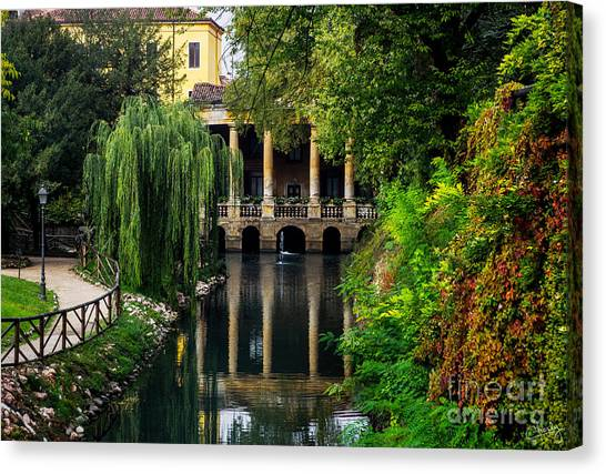 Loggia Valmarana On The Seriola Canvas Print