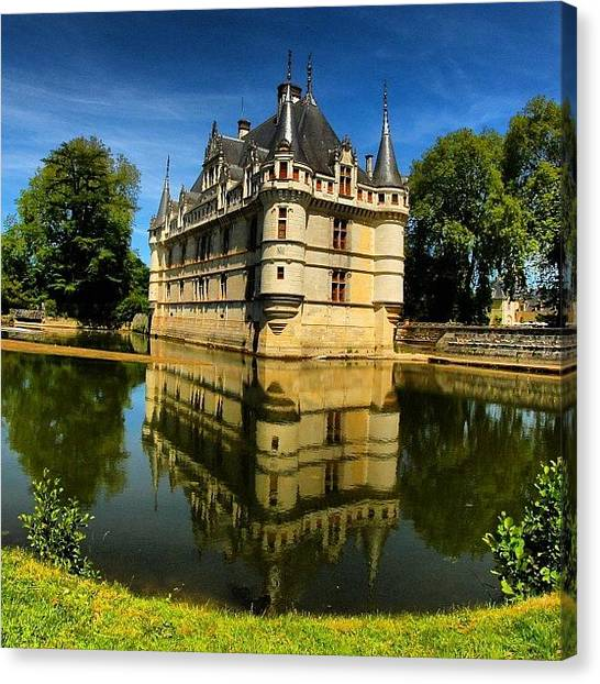 France Canvas Print - Loire Valley Chateau- Summer Vacation by Brian Governale