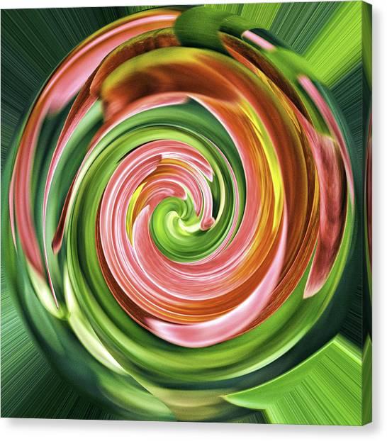 Lollipop Lollipop Canvas Print by Winnie Chrzanowski