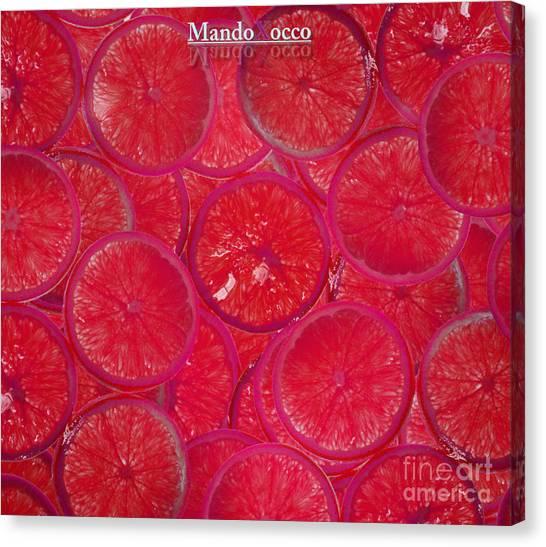 Lolly Orange Canvas Print