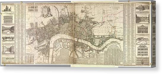 Tower Of London Canvas Print - London And Westminster by British Library