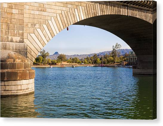 London Bridge At Lake Havasu City Canvas Print