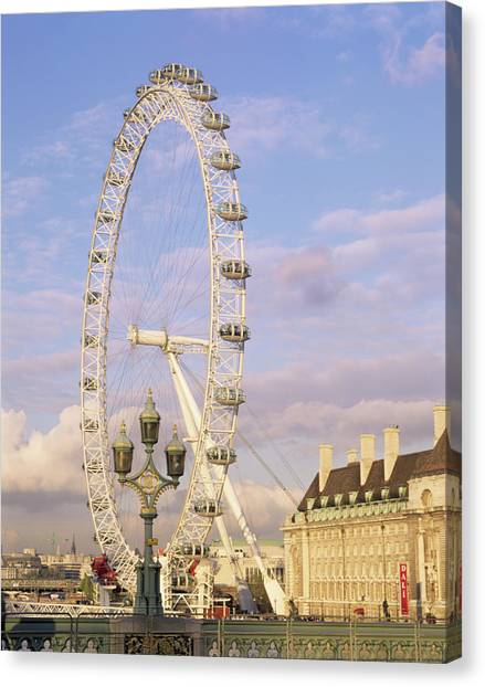 London Eye Canvas Print - London Eye by Andy Williams/science Photo Library