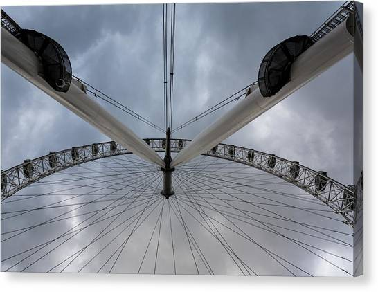 London Eye Detail Canvas Print