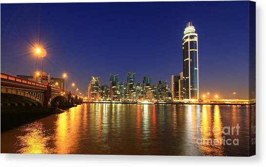 London Night Canvas Print