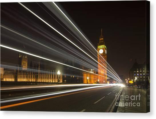 Stamford Bridge Canvas Print - London Nights by Steev Stamford