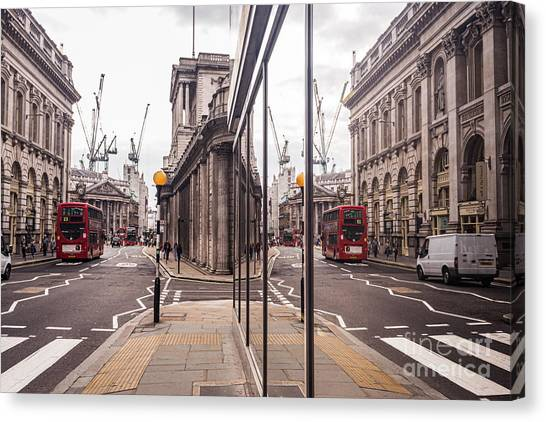London Reflected Canvas Print