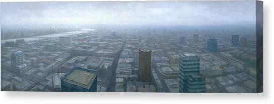 London Skyline Cityscape Canvas Print