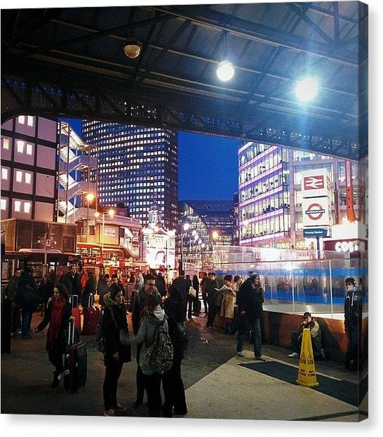 Metropolis Canvas Print - #london #victoria by M H