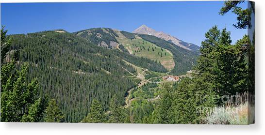 Lone Mountain Valley Canvas Print