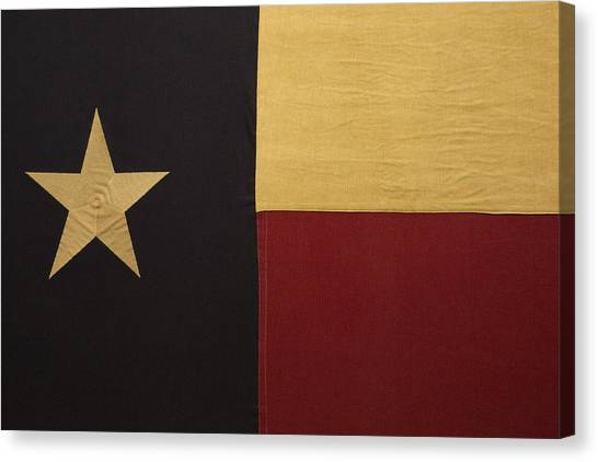 Lone Star Proud Canvas Print