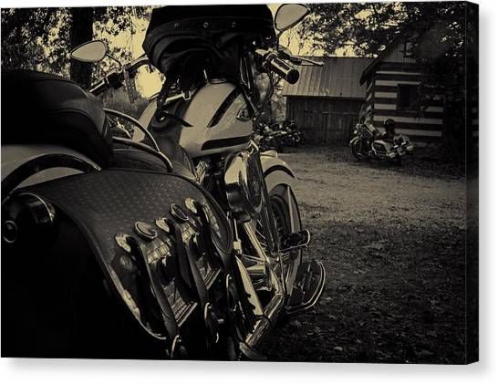 Scoot Canvas Print - Lone Wolf II by Off The Beaten Path Photography - Andrew Alexander