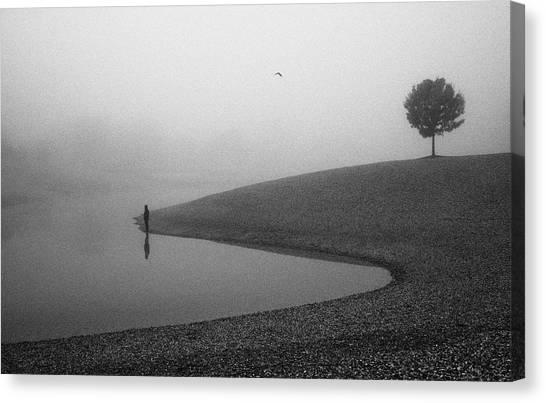 Loneliness Canvas Print by Matija Posavec