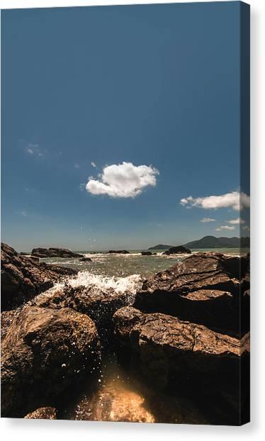 Lonely Cloud Canvas Print by Jose Maciel