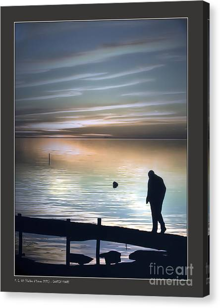 Lonely Shore Canvas Print