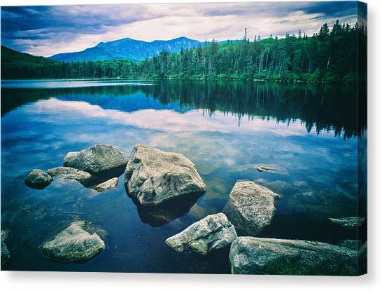 Lonesome Lake Nh Canvas Print