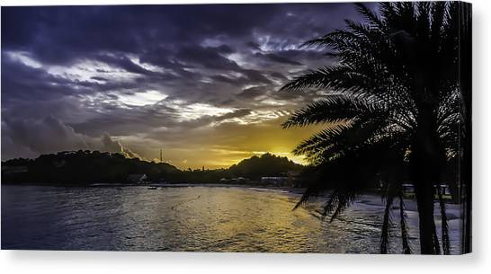 Long Bay Sunrise 1 Canvas Print