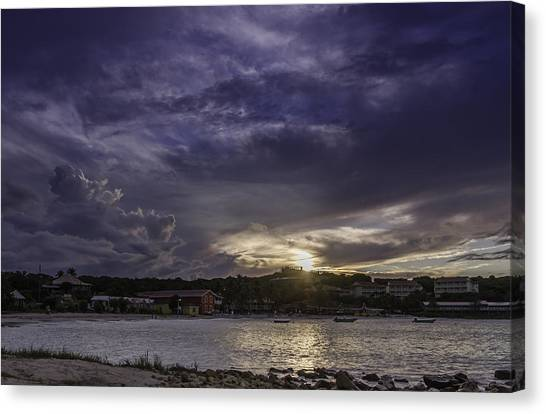 Long Bay Sunset #1 Canvas Print