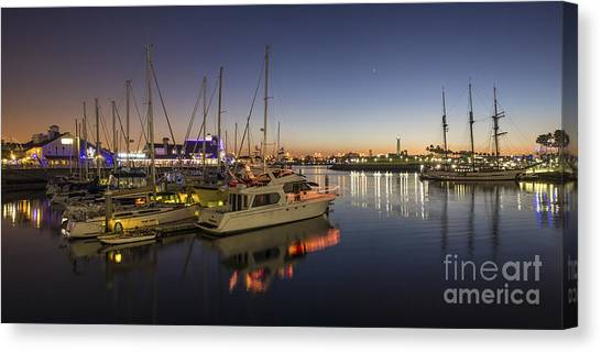 Long Beach Canvas Print