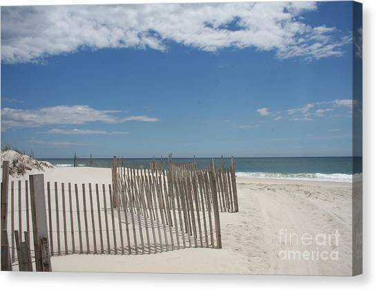 Canvas Print - Long Island Beach by Christiane Schulze Art And Photography