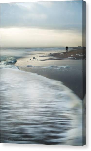 Long Walks Canvas Print