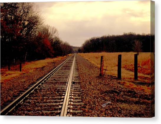 Long Way To Go... Canvas Print
